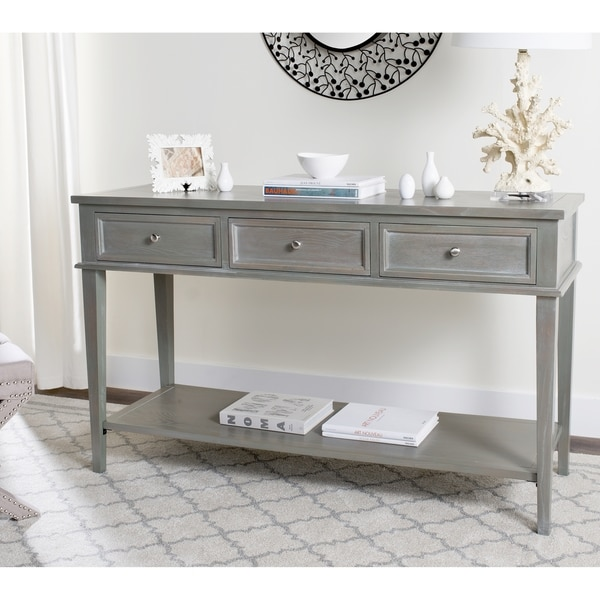 Safavieh Manelin Ash Grey Console - Free Shipping Today ...