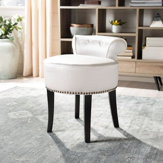 Safavieh Georgia White Vanity Stool