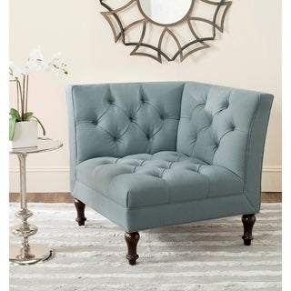 Safavieh Jack Sky Blue Corner Chair