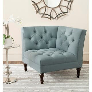 Corner Chairs Living Room. Safavieh Jack Sky Blue Corner Chair Living Room Furniture For Less  Overstock com
