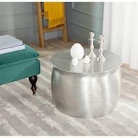 Safavieh Aztec Silver Metal Table Stool