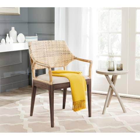 Safavieh Carlo Honey Arm Chair