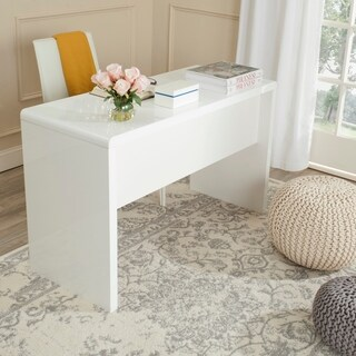 Safavieh Kaplan Modern White Desk