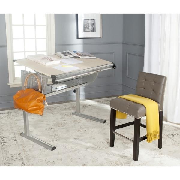 Safavieh Emerson Natural/ Silver Writing Desk