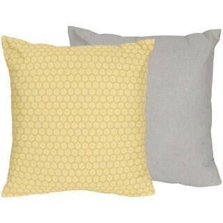 Honey Bumblee Bee Bedding Set 16-inch Throw Pillow