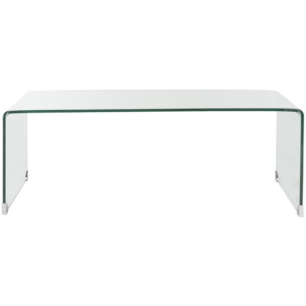 Safavieh Willow Clear Coffee Table - Free Shipping Today - Overstock.com -  16722627