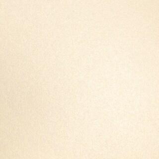 "Shimmering Cardstock 6""X6"" 20/Pkg-Ivory Pearl"