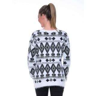 White Mark Women's Holiday Sweater