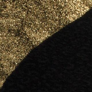 Kayla Collection Women's Two-tone Metallic and Black Maxi Dress