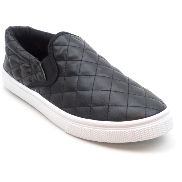 Blue Women's 'Venice-2' Quilted Flats