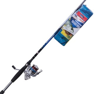 Zebco Ready Tackle Inshore Spin Combo, Medium 7'
