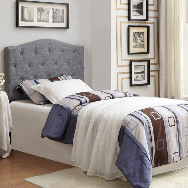 grace twin inch fabric tufted headboard only  free shipping, Headboard designs