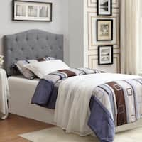 Grace Twin 39-inch Fabric Tufted Headboard Only