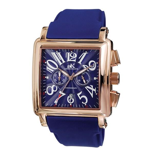 Men's Adee Kaye AK7231-M Square Dial Watch