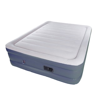Stansport Double High Deluxe Air Bed Built In Pump