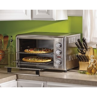 Link to Hamilton Beach Stainless Countertop Oven with Convection and Rotisserie Similar Items in Kitchen Appliances