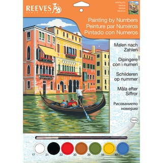 """Junior Paint By Number Kits 9""""X12""""-Venice"""