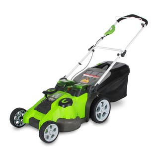 GreenWorks 25302 20-inch 40V G-MAX Cordless Lawn Mower|https://ak1.ostkcdn.com/images/products/9543195/P16724375.jpg?impolicy=medium