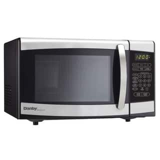 Danby Stainless Steel Countertop Microwave Oven|https://ak1.ostkcdn.com/images/products/9543216/P16724383.jpg?impolicy=medium
