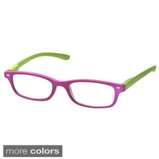 Epic Women's 'Patton' Rectangle Reading Glasses (Option: Purple)|https://ak1.ostkcdn.com/images/products/9543281/P16724452.jpg?impolicy=medium