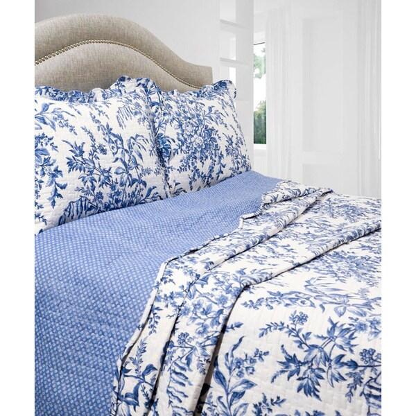 Slumber Shop Ali 3-piece Reversible Quilt Set