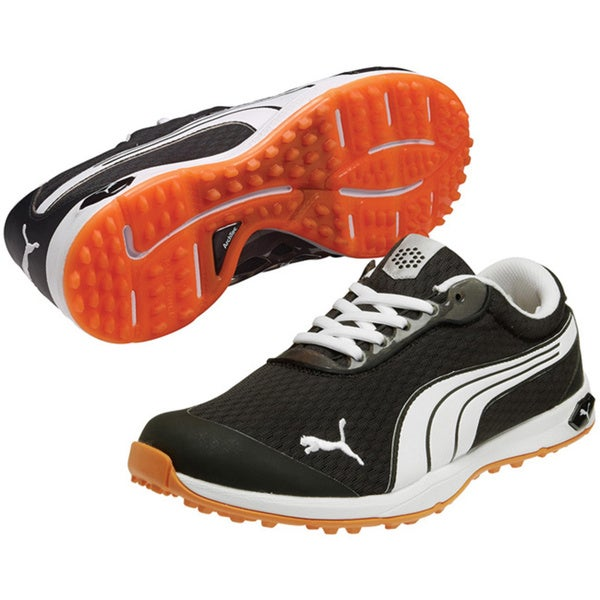 Shop Puma Men s Biofusion Spikeless Mesh Golf Shoes - Free Shipping Today -  Overstock - 9543422 2c70ab6c920d