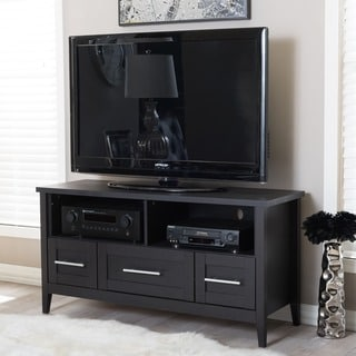 Link to Porch & Den Bienvenue Espresso Modern TV Stand Similar Items in TV Stands & Entertainment Centers