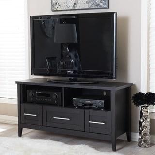 Baxton Studio Espresso Modern TV Stand