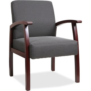 Lorell Charcoal Deluxe Guest Chair