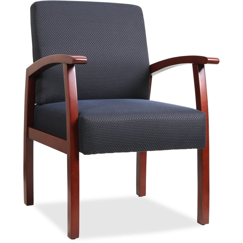 Copper Grove Boneset Blue Wood Guest Chair