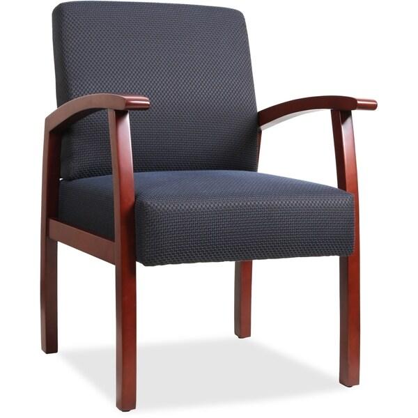 Copper Grove Boneset Blue Wood Guest Chair