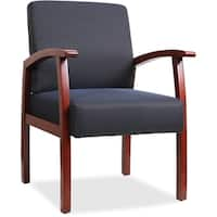 Clay Alder Home Swiftwater Blue Wood Guest Chair
