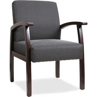 Copper Grove Boneset Black Wood Guest Chair