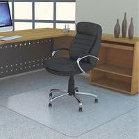 Lorell Polycarbonate Rectangular Studded Chair Mat (4'5 x 3'9)