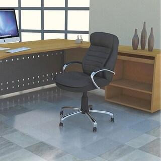 Lorell Rectangular Chair Mat without Lip (4' x 3')