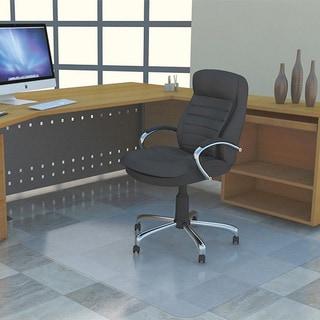 Lorell Rectangular Chair Mat without Lip (4'5 x 3'9)