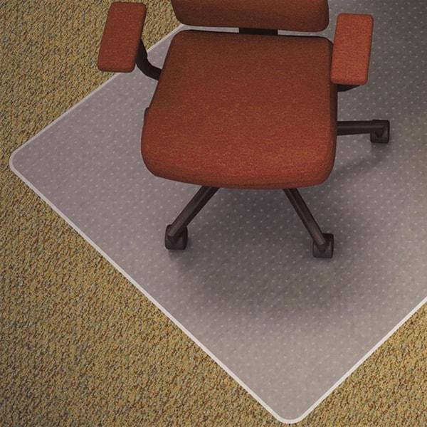 Chair Mat For Deep Pile Carpet: Lorell Medium-pile Carpet Chair Mat