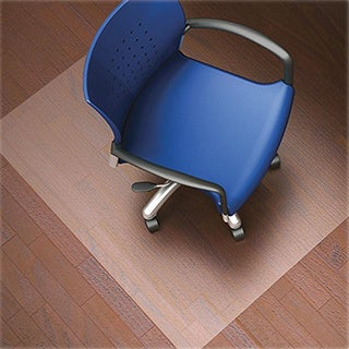Lorell Nonstudded Design Hardwood Surface Chair Mat