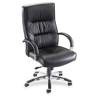Lorell Bridgemill Executive High-back Swivel Chair