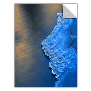 Dean Uhlinger 'Ice on the Merced Yosemite' Removable Wall Art