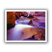 Dean Uhlinger 'Fremont River Slot' Unwrapped Canvas - Multi