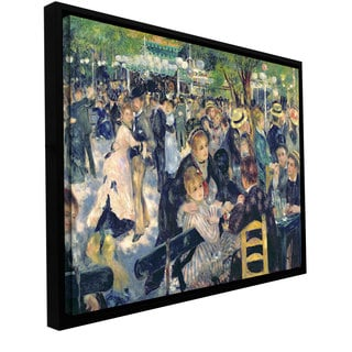 Pierre Renoir 'Ball at the Moulin de la galette' Floater-framed Gallery-wrapped Canvas