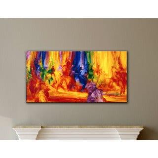 Bayo Iribhogbe 'Dance 1, 2000' Gallery-wrapped Canvas