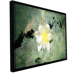 Mark Ross 'Urban Attitude' Floater-framed Gallery-wrapped Canvas