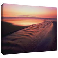 Dean Uhlinger 'Back to the Sea' Gallery-wrapped Canvas - Multi
