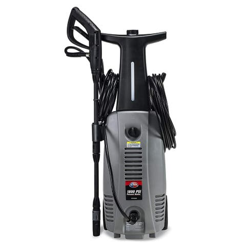 All Power 1800 PSI 1.6 GPM Electric Pressure Washer with Hose Reel for House, Walkway, Car and Outdoor Cleaning