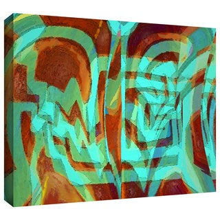 Dean Uhlinger 'Bilh' Gallery-wrapped Canvas