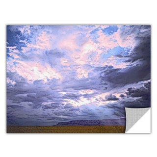 Dean Uhlinger 'Echo Cliffs Monsoon' Removable Wall Art