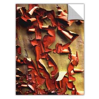 Dean Uhlinger 'Madrone Bark Detail' Removable Wall Art