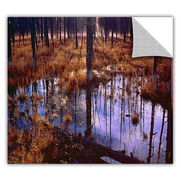 Dean Uhlinger 'Yellowstone Morning' Removable Wall Art